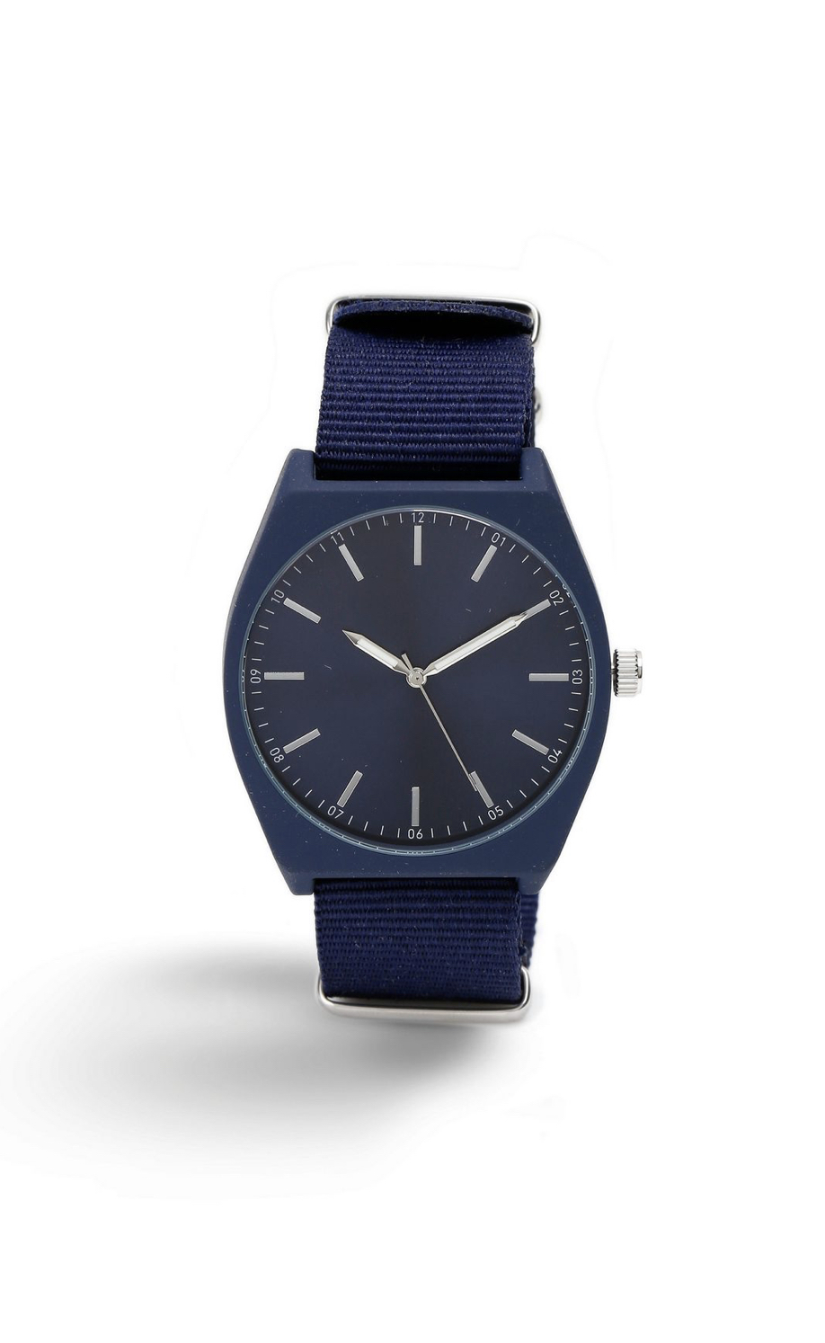Navy Canvas Watch