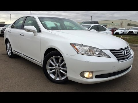 UK/Fairly Used Lexus ES 350 2009 Automatic Left Hand Drive