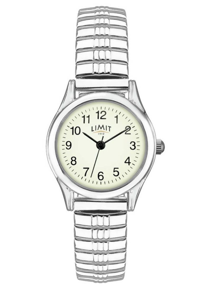 Limit Ladies Silver Stainless Steel Expander Watch
