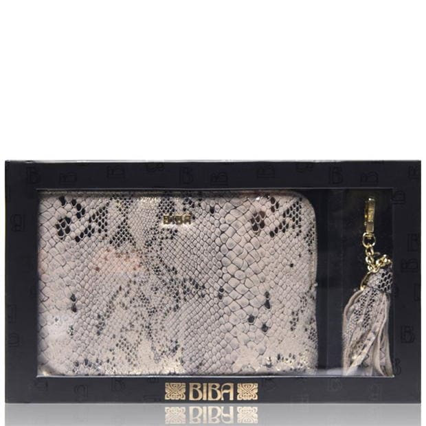 BIBA Pouch and Keyring Gift Box