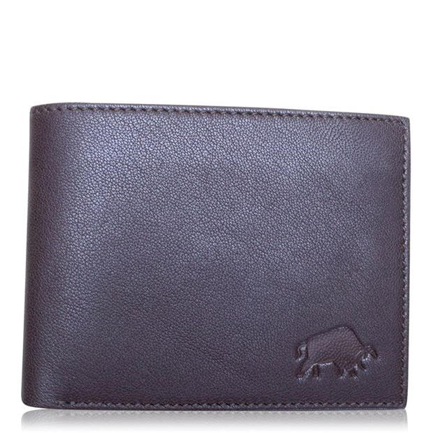 RAGING BULL Leather Coin Wallet