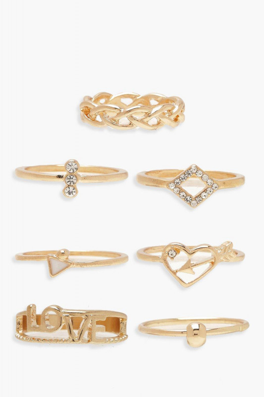 LOVE Stack Ring Pack