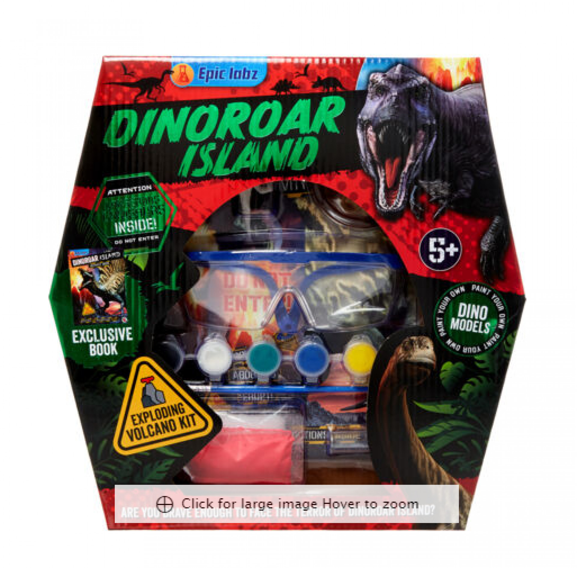 LAUGHING LOBSTER  Dinosaur Exploding Volcano Kit