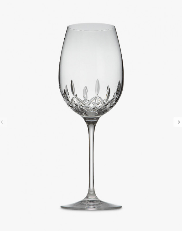 Waterford Crystal Lismore Essence Cut Lead Crystal Goblets, Box of 2, Clear