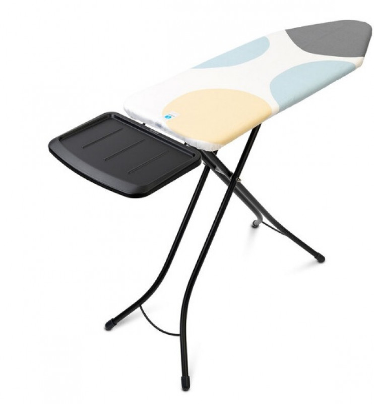 Brabantia Plus Size Steam Ironing Board with Steam Unit Holder, L 124 x W 45 cm