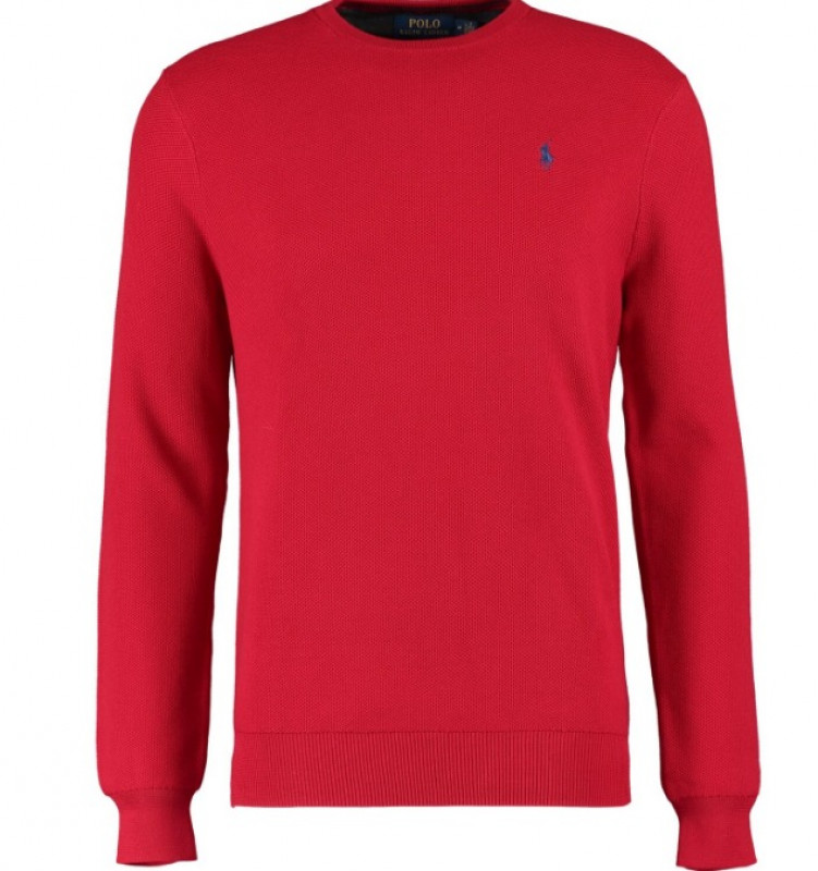 POLO RALPH LAUREN  Red Park Avenue Jumper