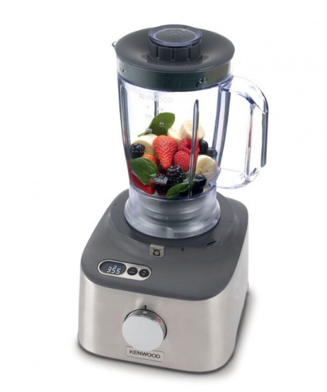 Kenwood Multipro Compact Plus Food Processor & Blender with Digital Weighing Scales, FDM312SS
