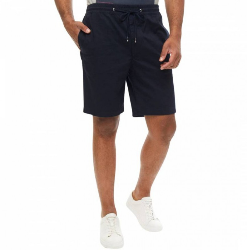 TOMMY HILFIGER Navy Sportsman Side Panel Shorts