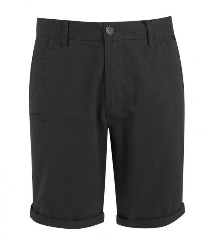 Dark Grey Chino Shorts