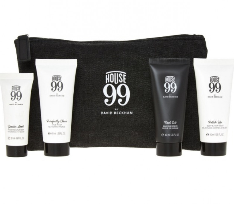 HOUSE 99 BY DAVID BECKHAM  House Of Travel Skincare Gift Set