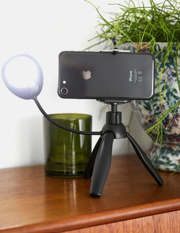 Smartphone Tripod With LED Light