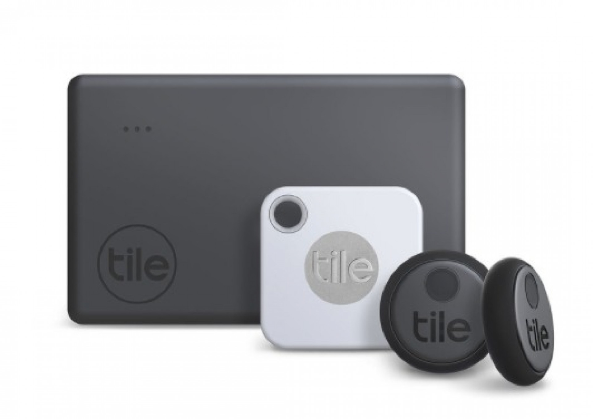 Tile Bluetooth Tracker Essentials Combo, 4 Pack