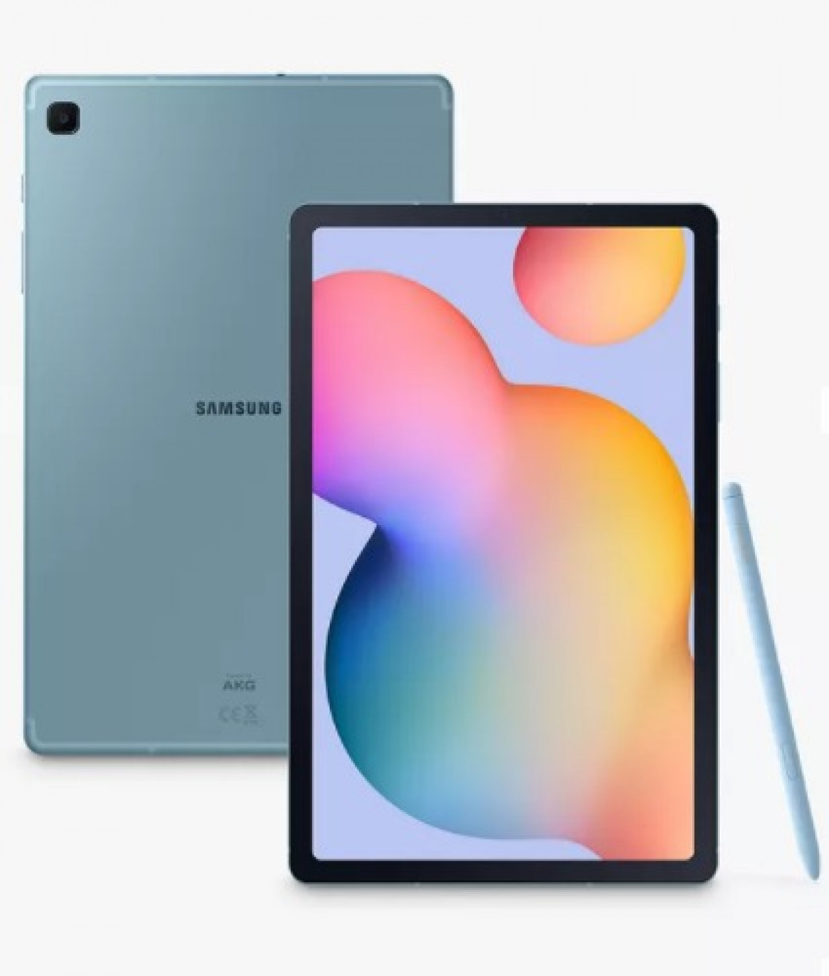 "Samsung Galaxy Tab S6 Lite Tablet with S Pen, Android, 64GB, 4GB RAM, LTE, 10.4"", Angora Blue"