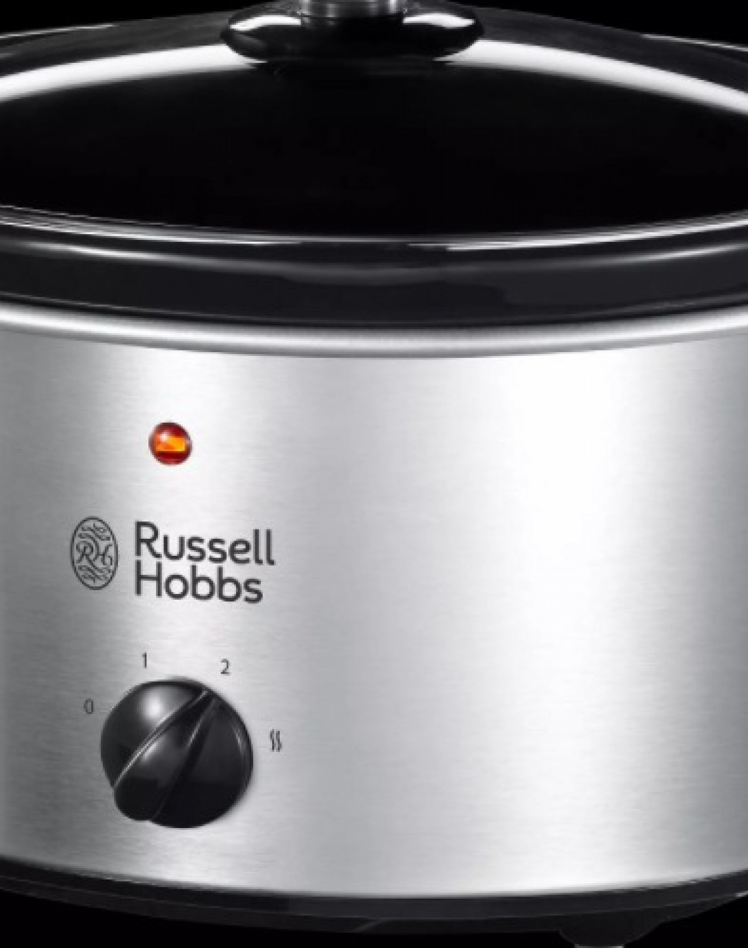 Russell Hobbs 3.5L Slow Cooker, Stainless Steel