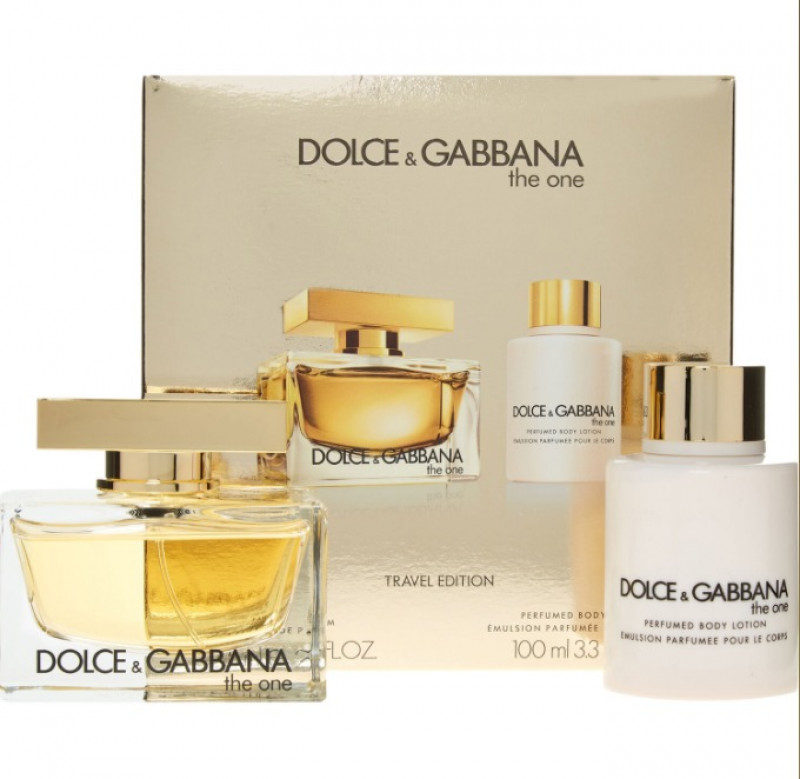 DOLCE & GABBANA  The One Travel Edition EDP & Body Lotion Gift Set