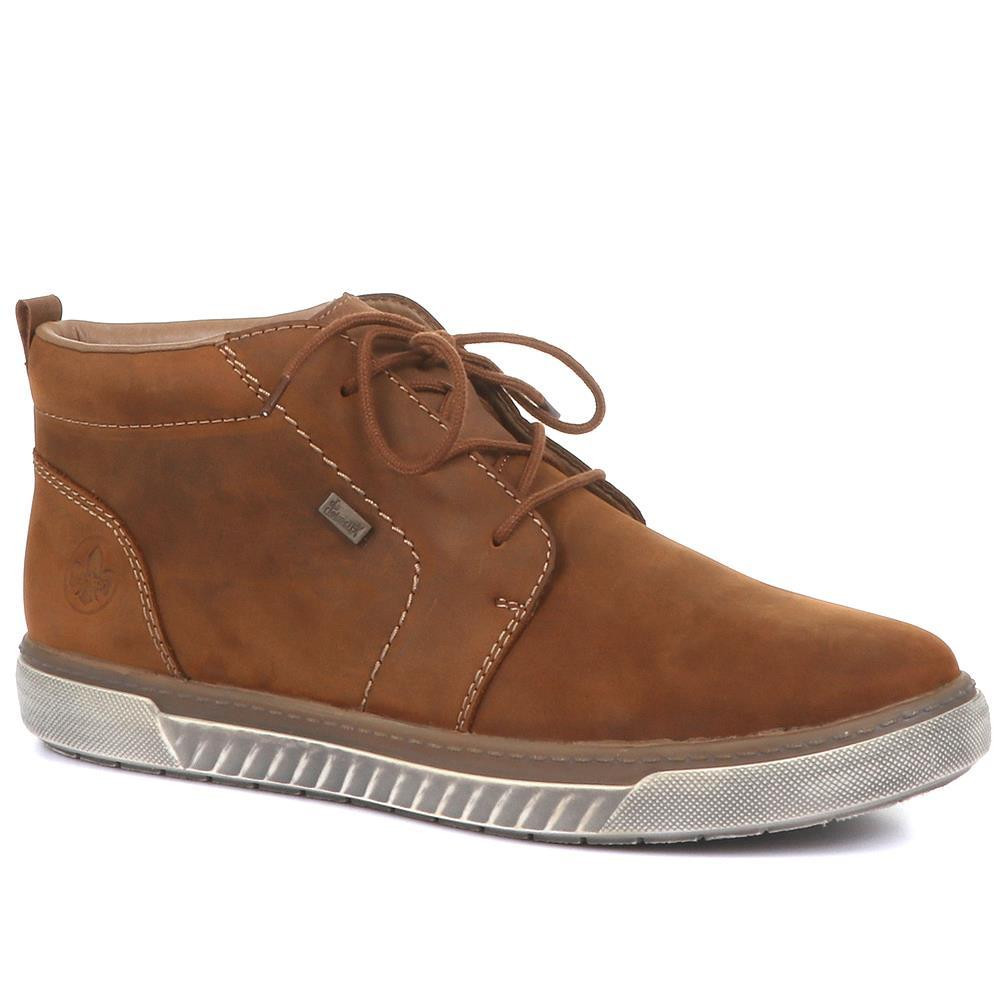 RIEKER LEATHER CHUKKA BOOTS