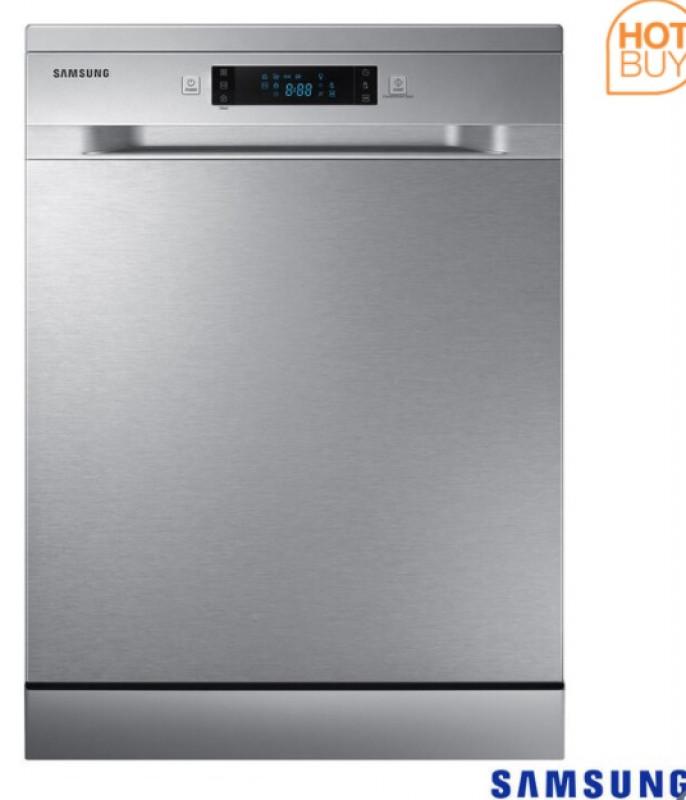 Samsung DW60M5050FS/EU, 13 Place Settings Dishwasher, F Rated in Silver