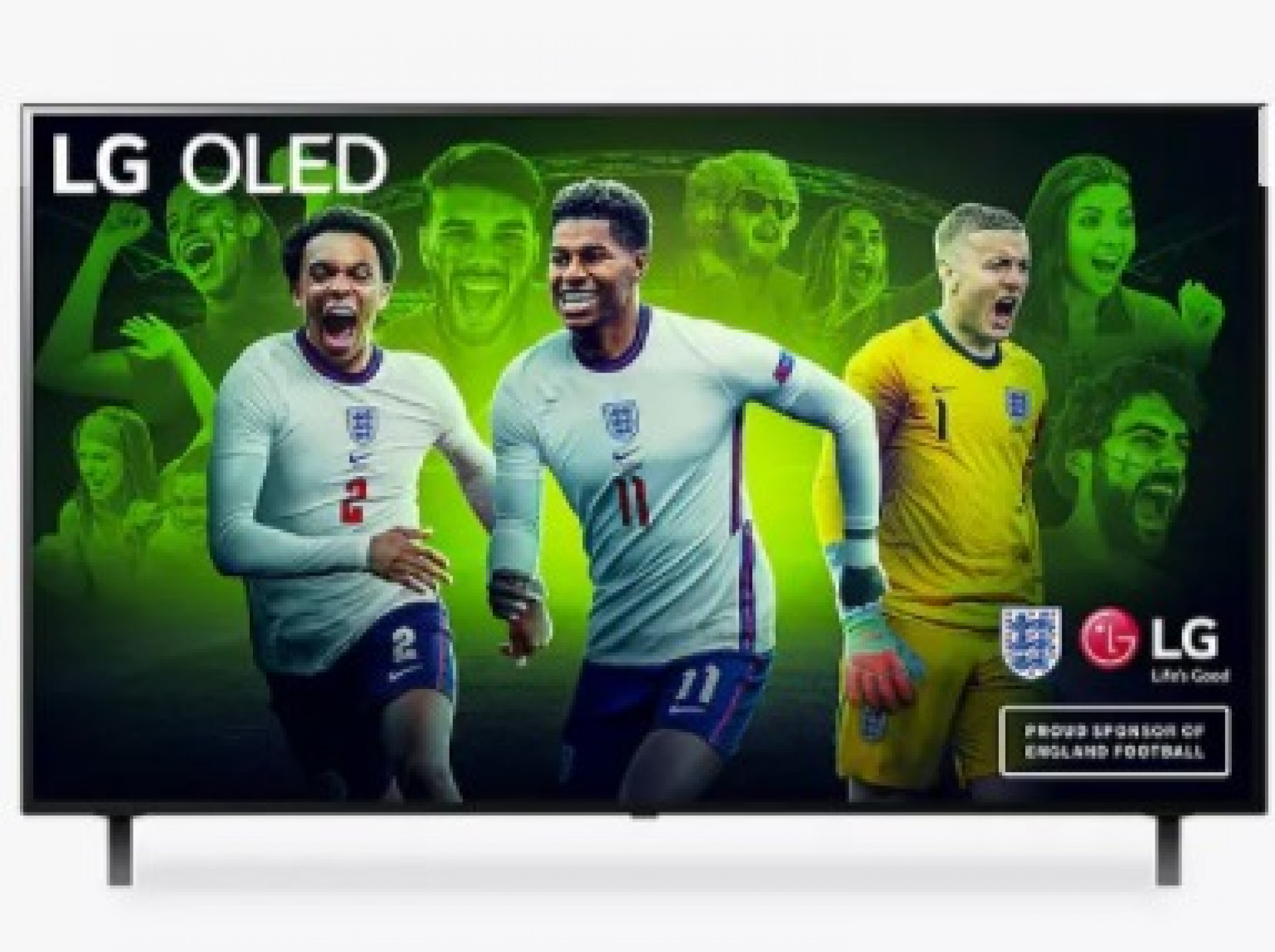 LG OLED55A16LA (2021) OLED HDR 4K Ultra HD Smart TV, 55 inch with Freeview Play/Freesat HD & Dolby Atmos, Black