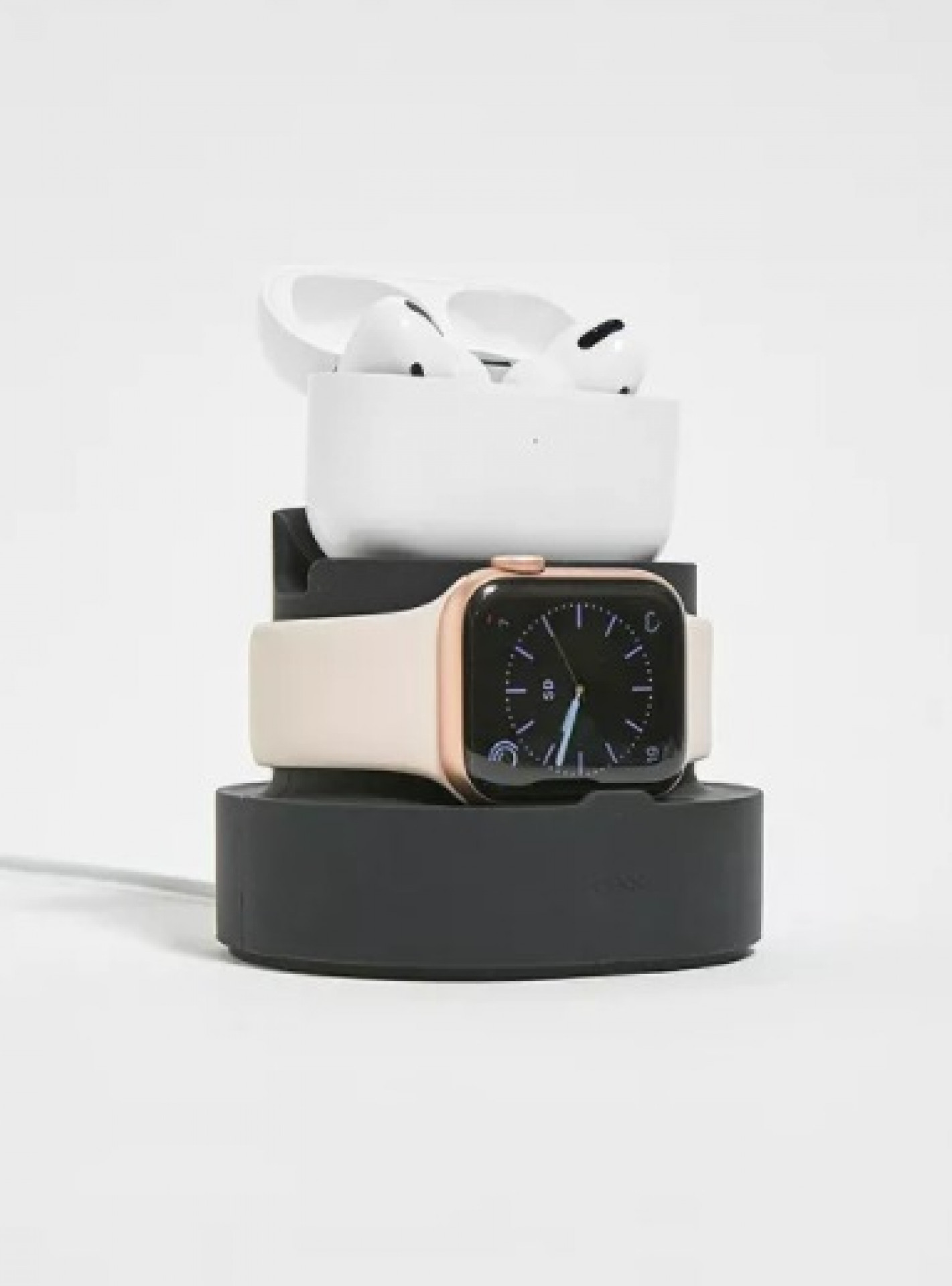 Elago Black 2 in 1 Apple Watch and Airpods Pro Charging Dock