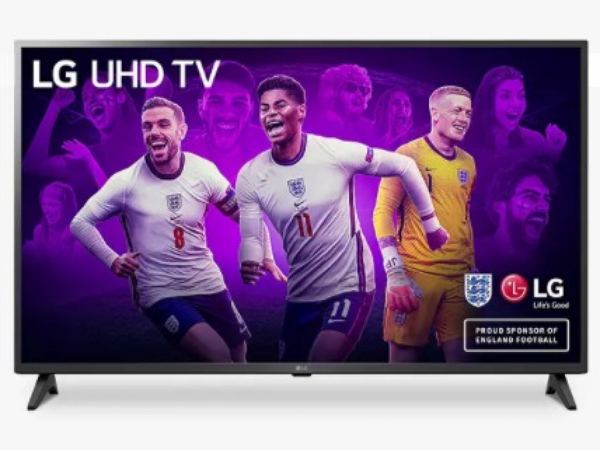 LG 43UP75006LF (2021) LED HDR 4K Ultra HD Smart TV, 43 inch with Freeview Play/Freesat HD, Ceramic Black