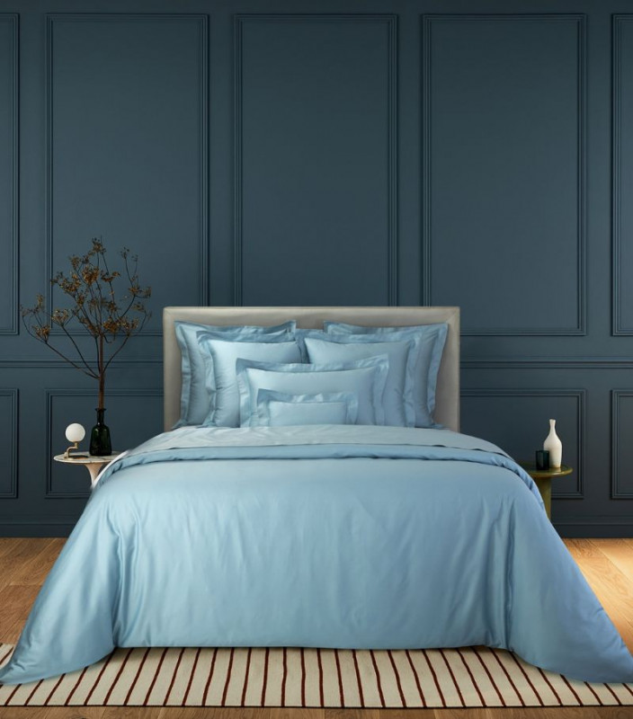 YVES DELORME  Triomph Horizon King Fitted Sheet (150cm x 200cm)