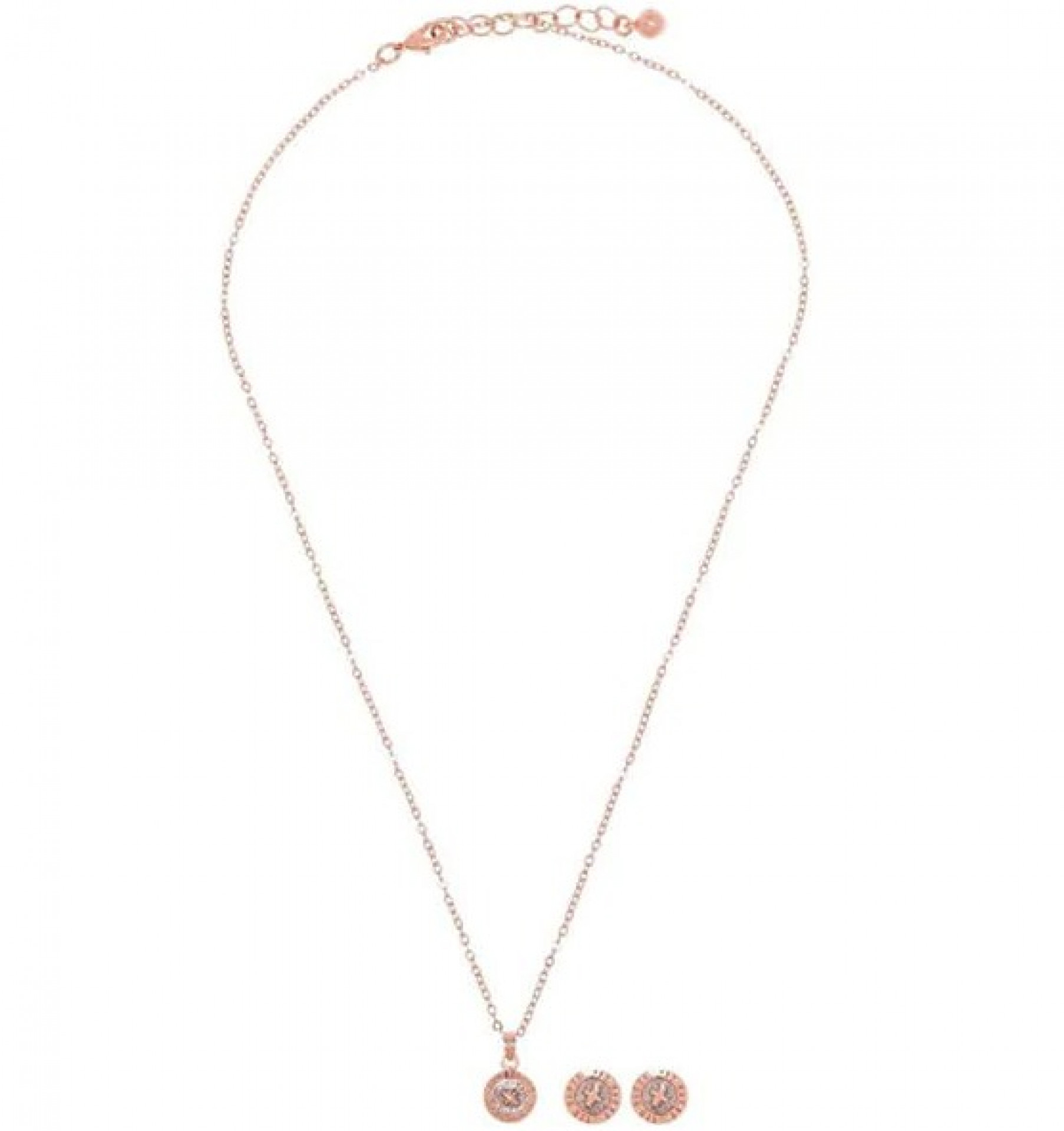 TED BAKER Emilia Button Chain and Earings