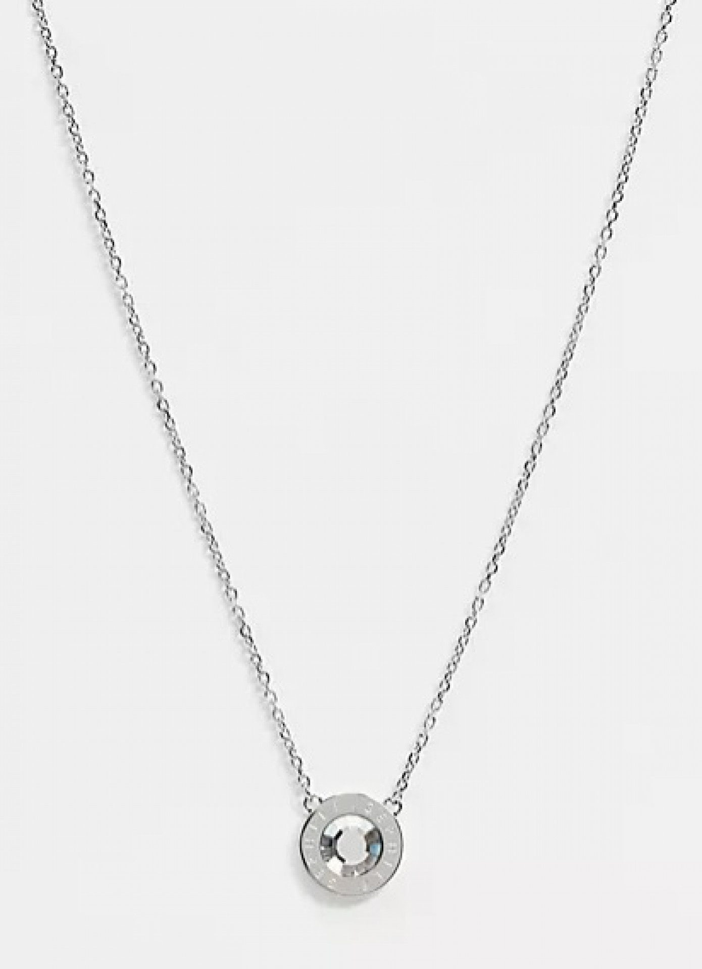 Tommy Hilfiger stud necklace in silver
