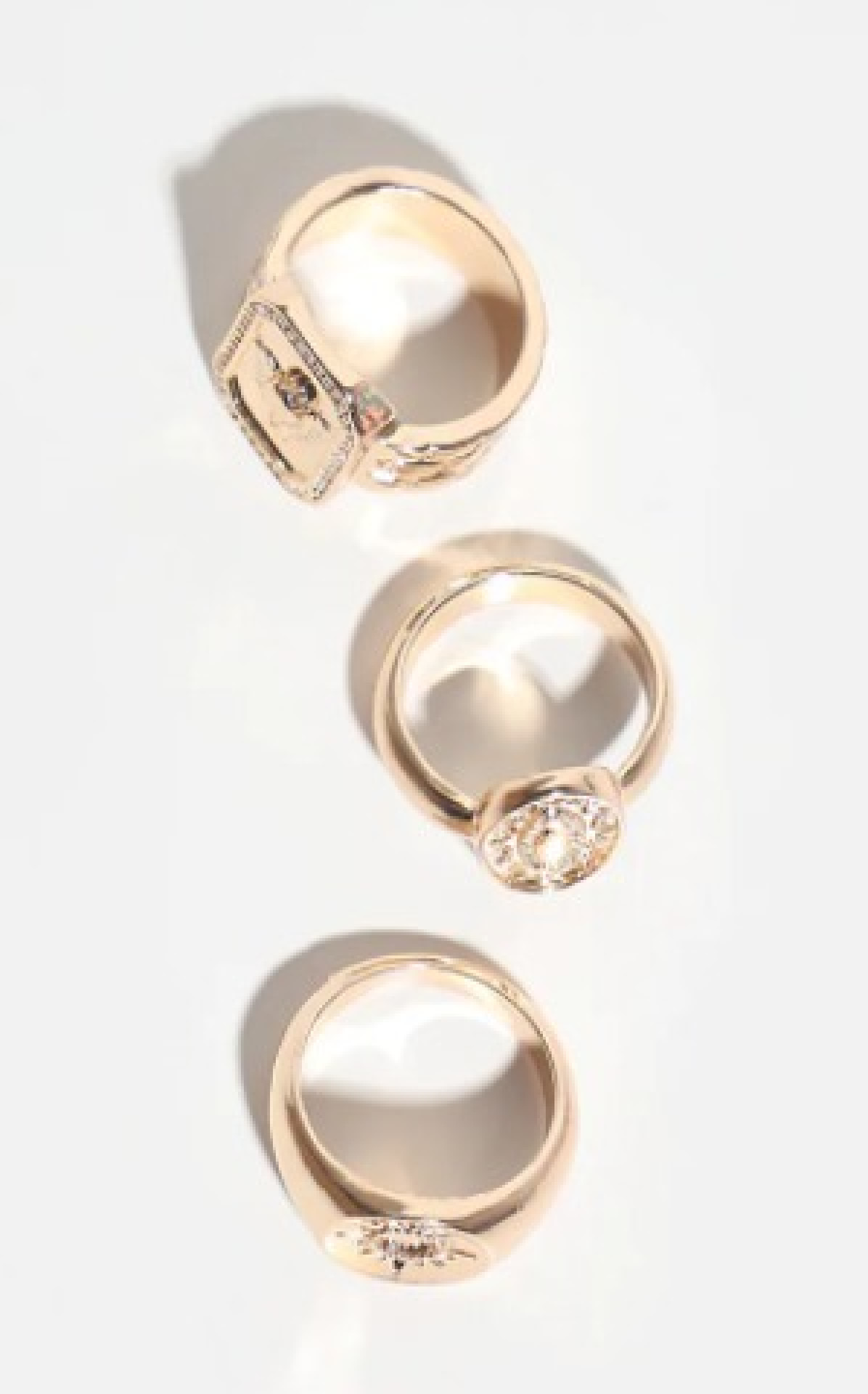 GOLD MULTI PACK ASSORTED RINGS