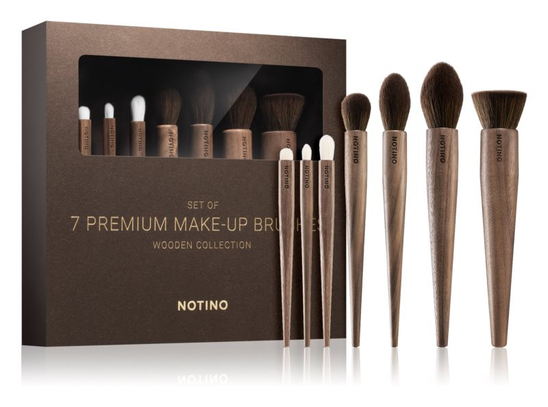 Notino Wooden Collection Brush Set