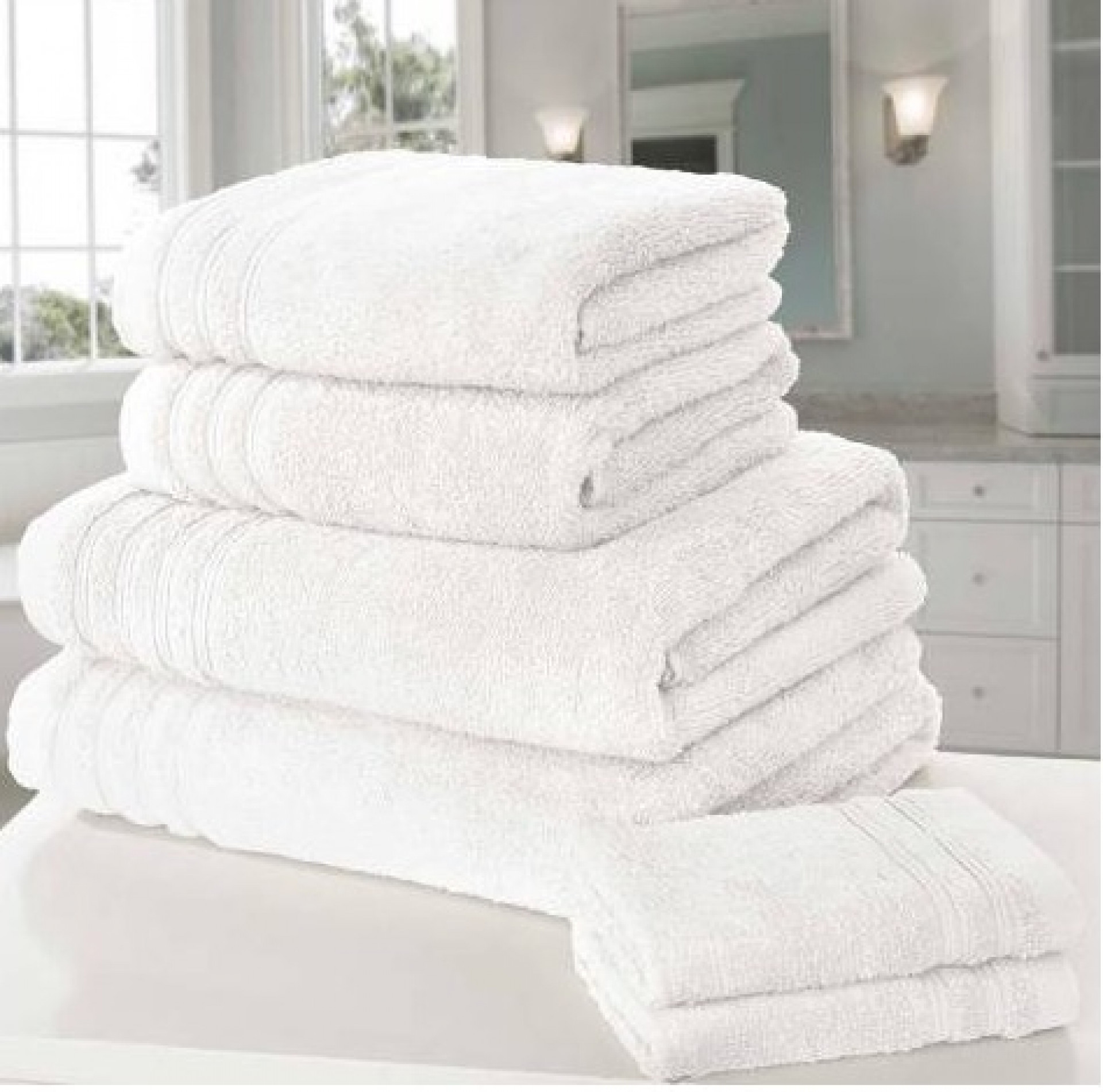 RAPPORT So Soft Pair of Bath Sheets, White
