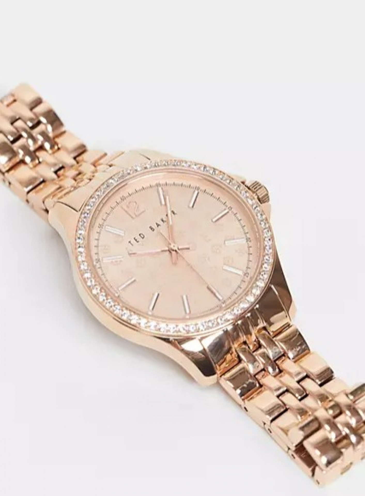 Ted Baker stainless steel crystal watch