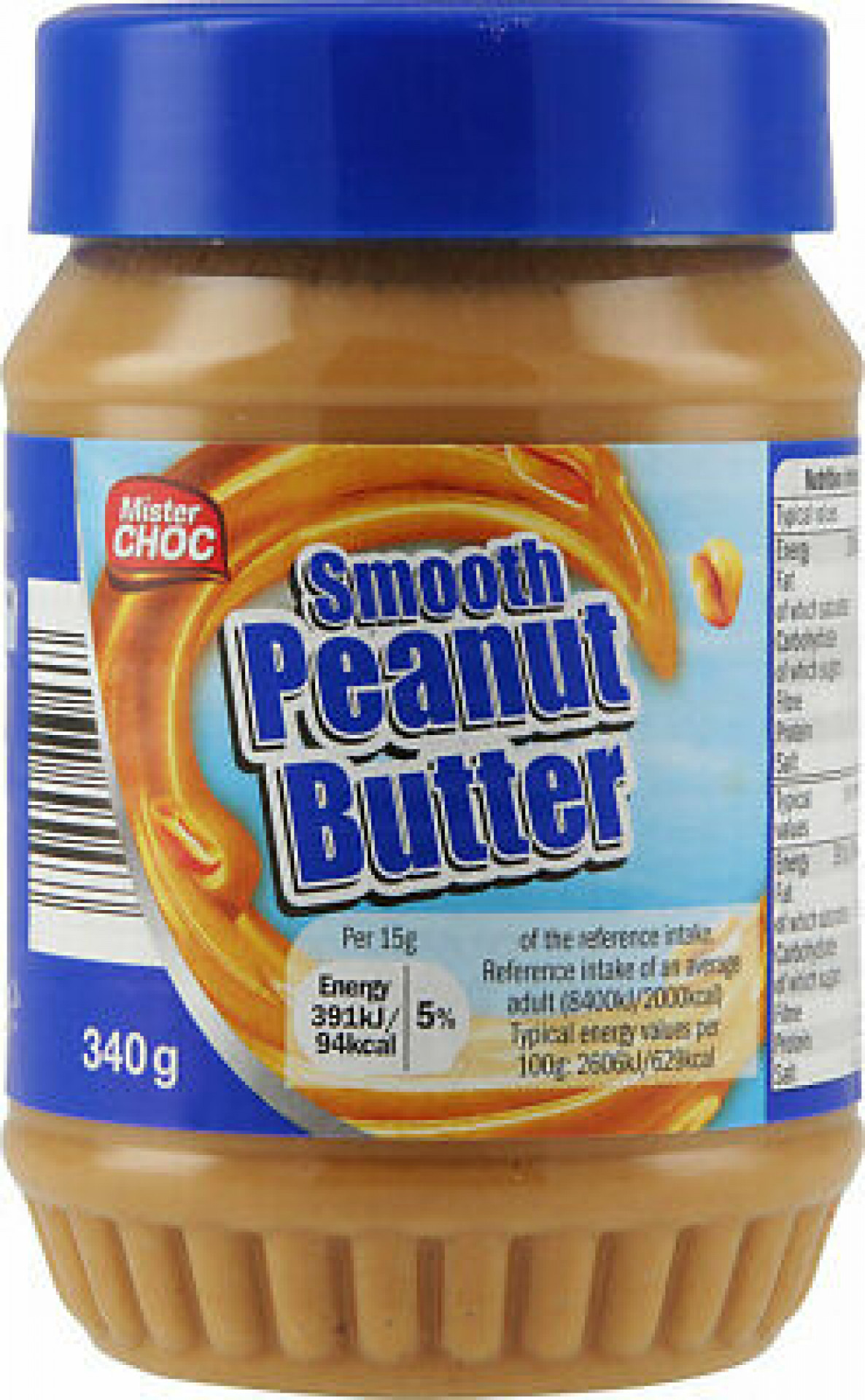 Smooth Peanut Butter (12 x 340g)