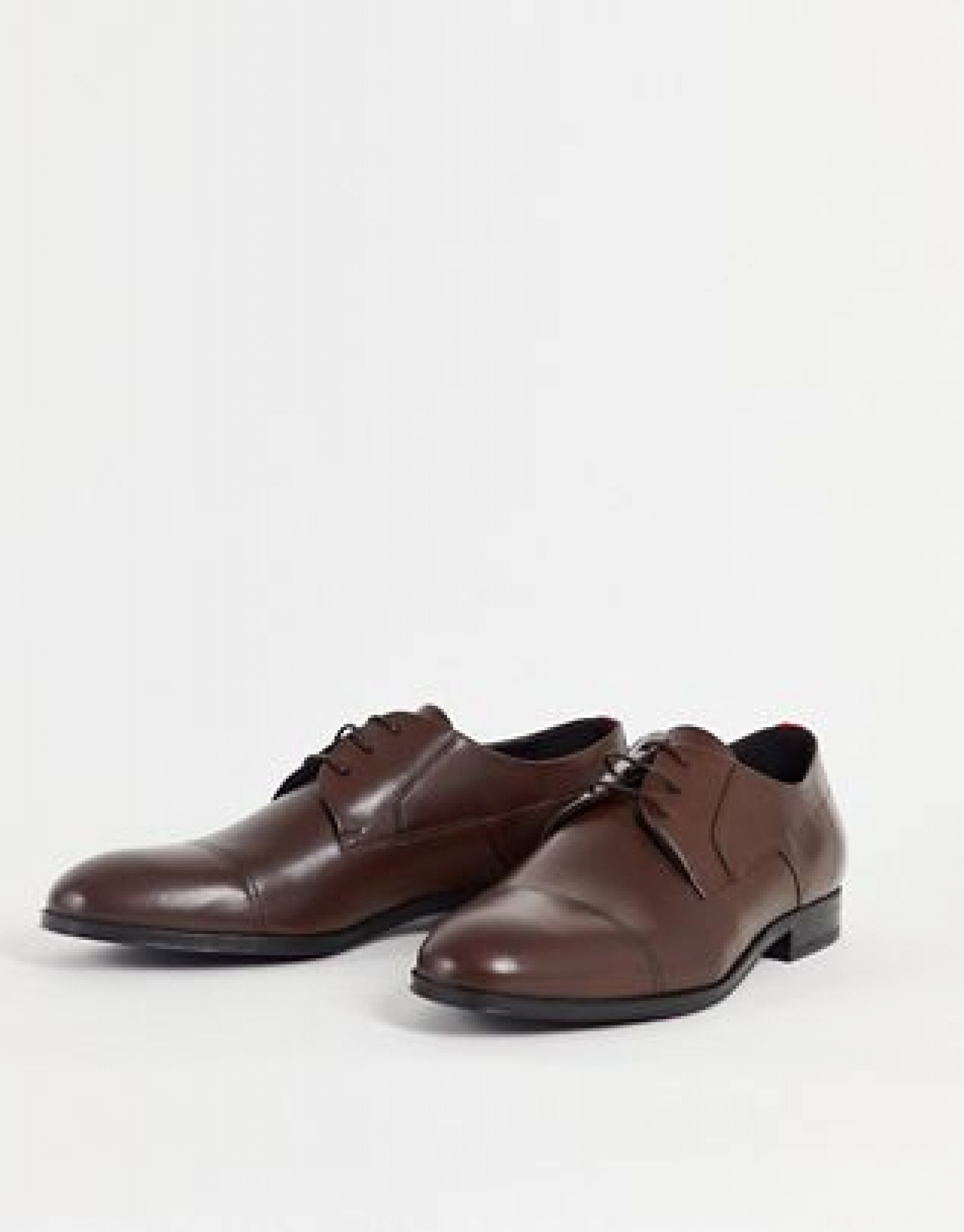 HUGO Boheme lace up shoes in brown