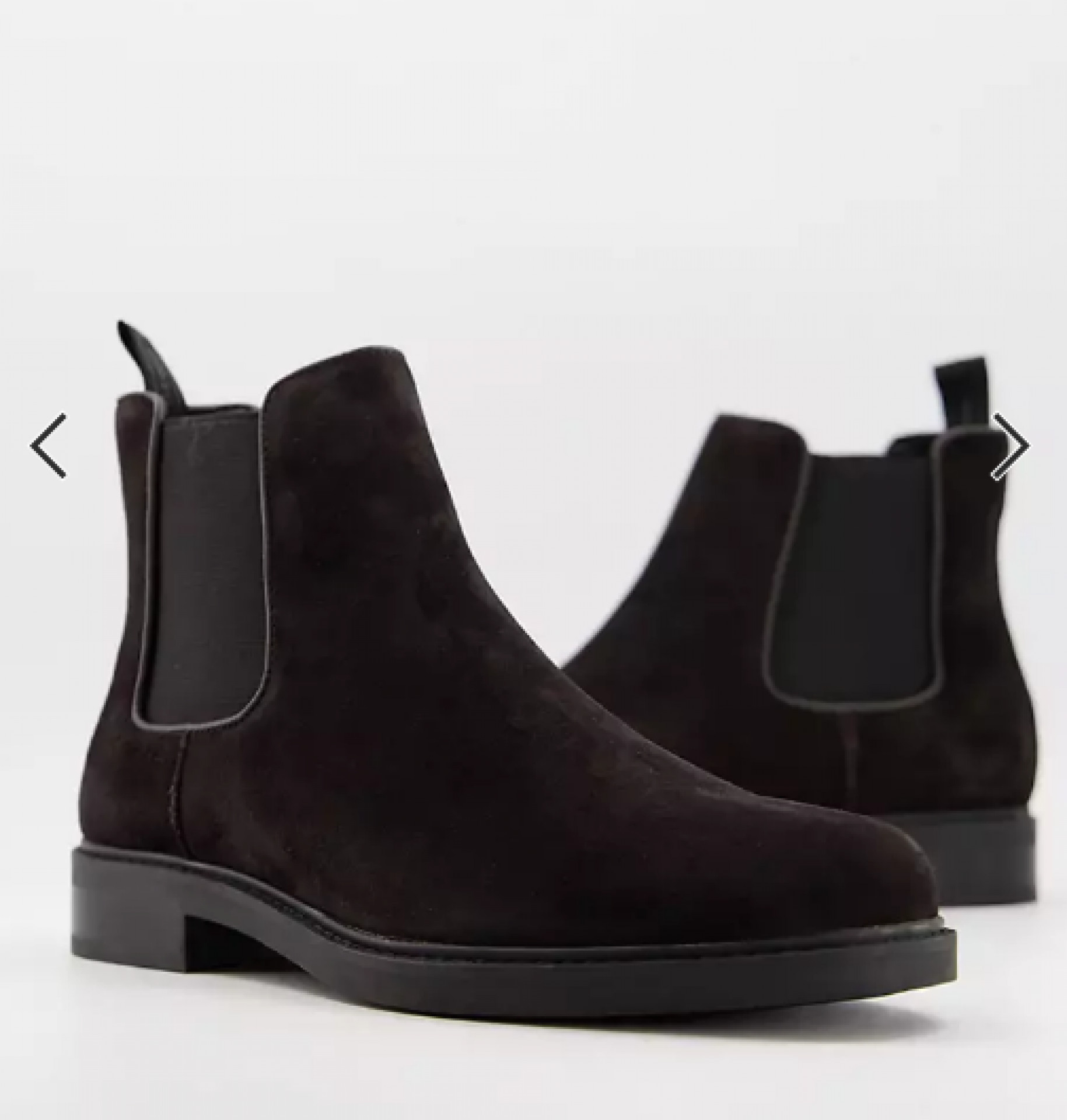 Calvin Klein fintan chelsea boots in brown leather