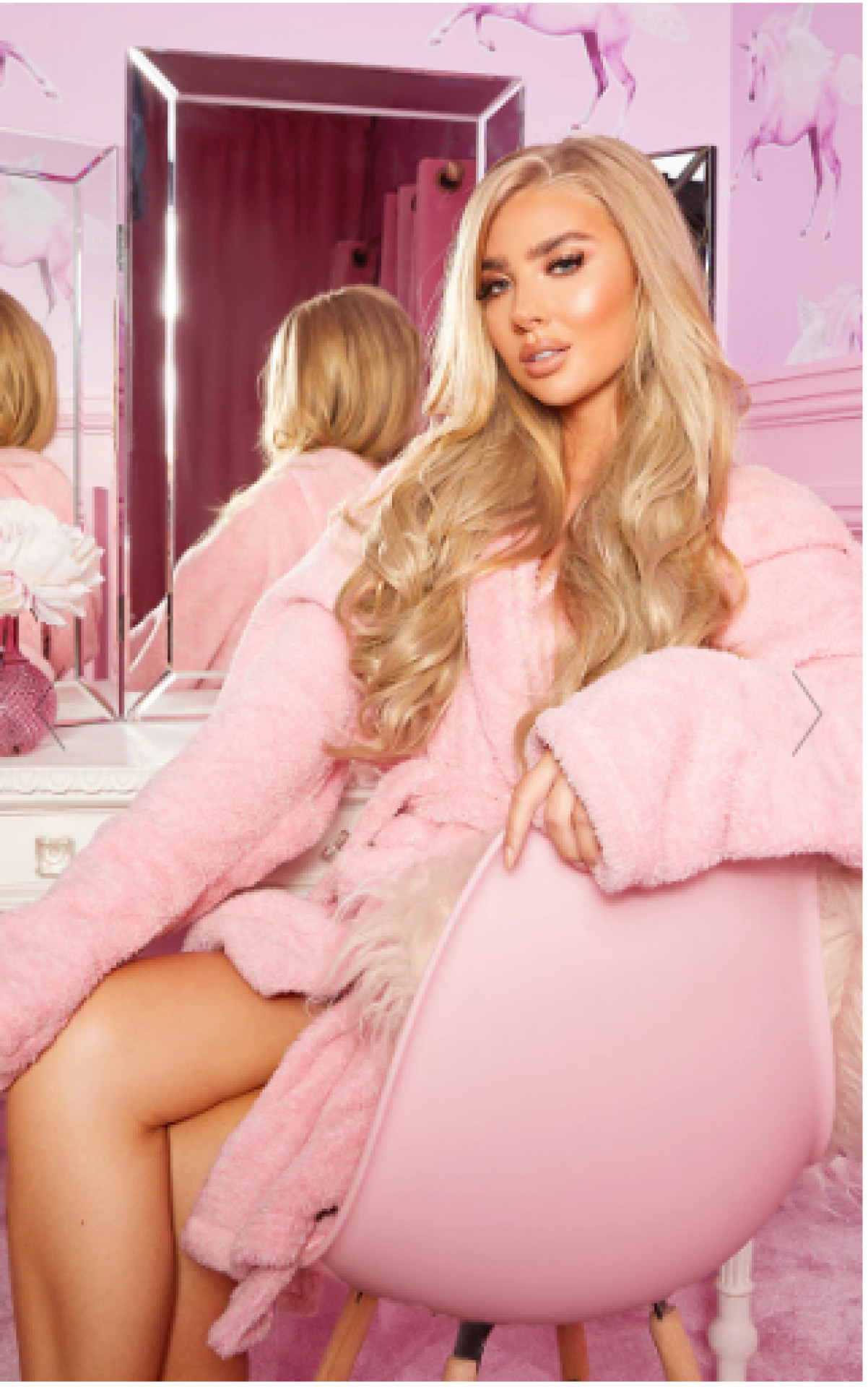 """LULLABELLZ 22"""" 5 PIECE BLOW DRY CLIP IN HAIR EXTENSIONS LIGHT BLONDE"""