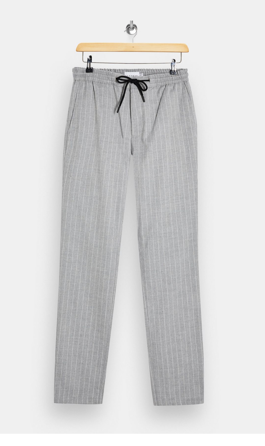 TALL Grey Stripe Joggers