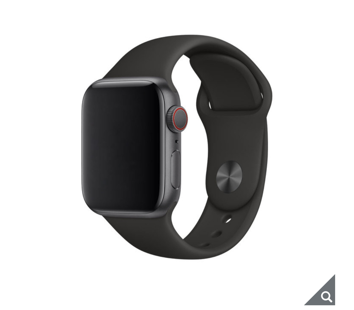 Apple Watch Series 5, MWWE2B/A, GPS + Cellular, 44mm Space Grey Aluminium Case with Black Sports Band