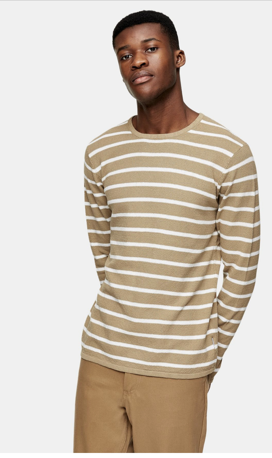 ONLY & SONS Stone Knitted Jumper
