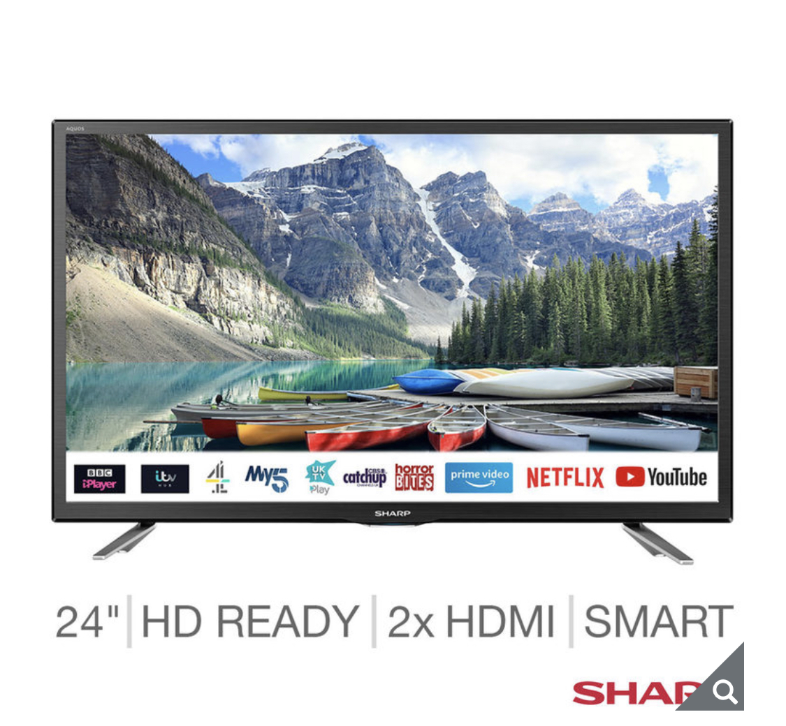 Sharp LC-24CHG6131 24 inch HD Smart TV