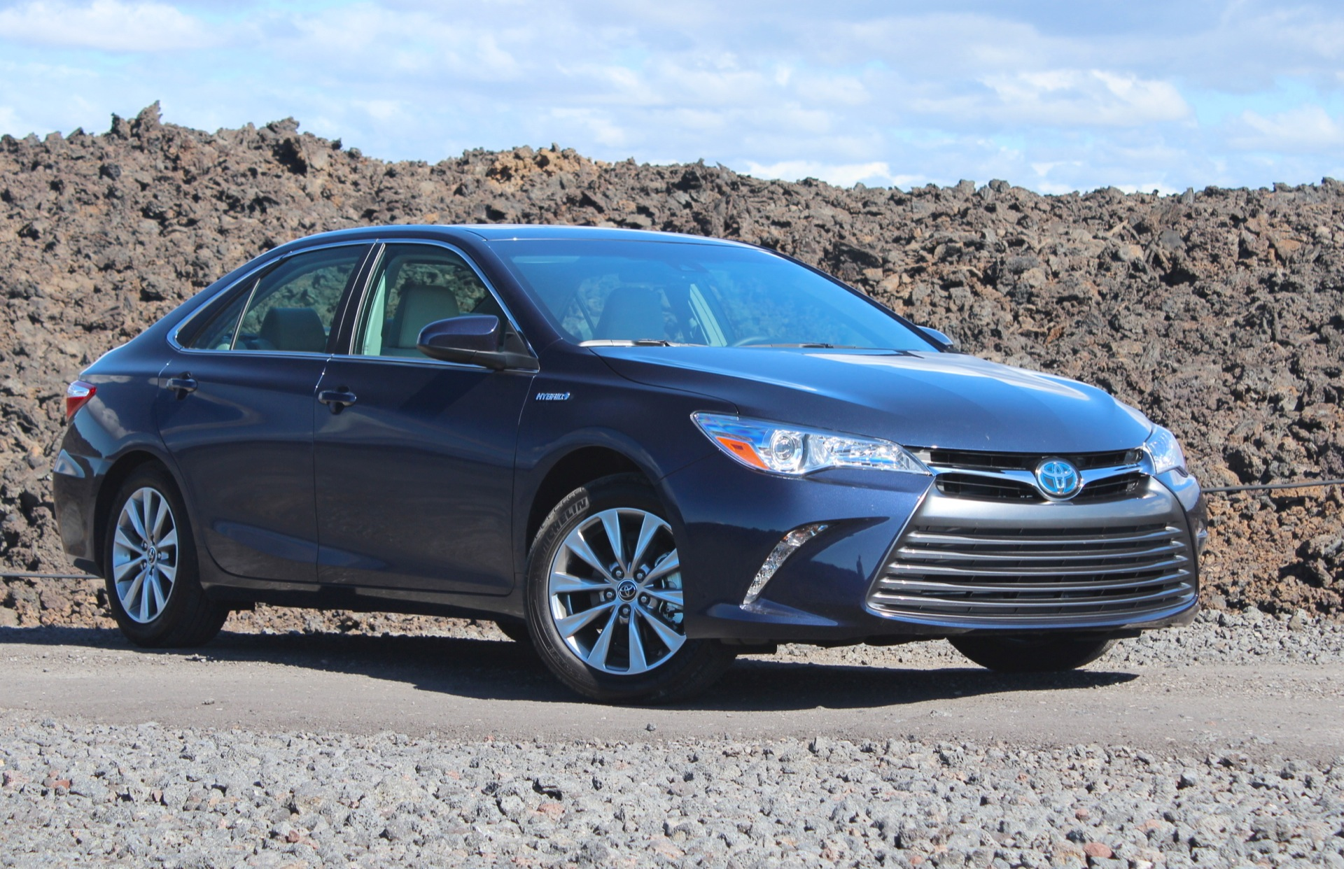 Navy Blue 2015 Seller's Refurbished Toyota Camry