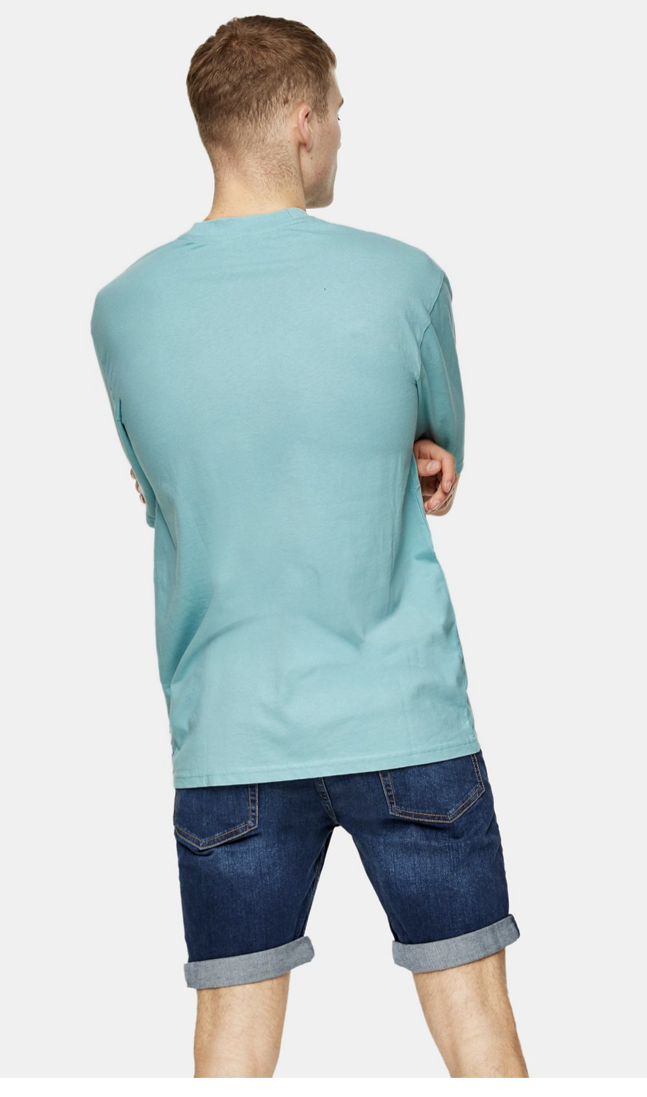 ONLY & SONS Teal Classic T-Shirt