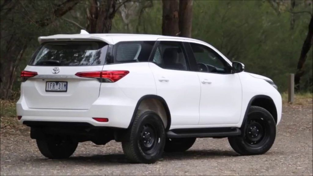 White Used Toyota Fortuner Automatic 2020 1234km