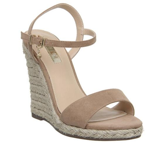 Office Honolulu Dressy Espadrille Wedges