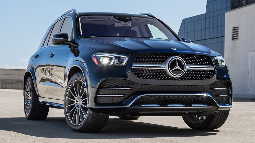 Black New Mercedes Benz GLE 450 4 2020 0