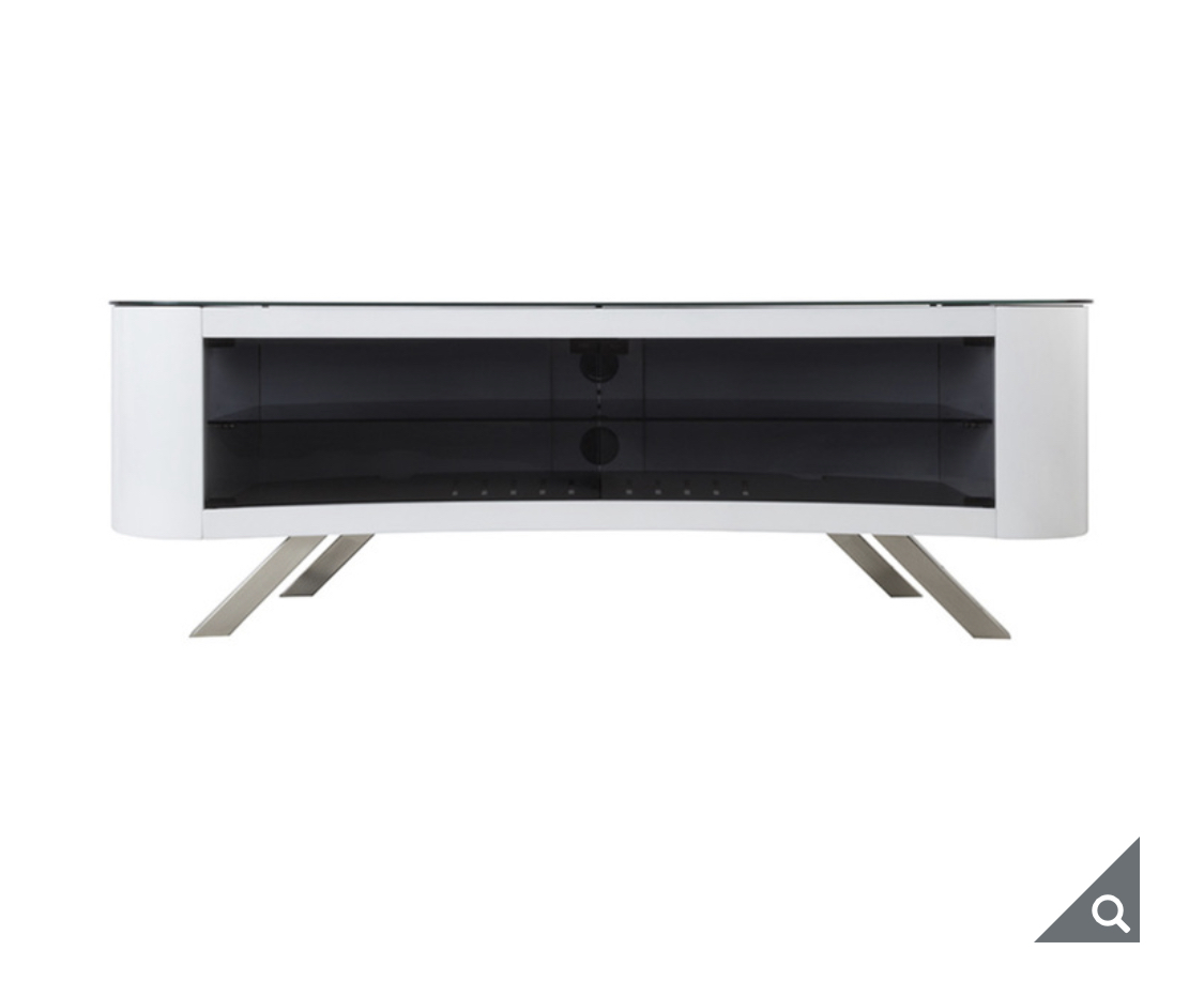 "AVF Bay Affinity Curved 1500 TV Stand for TVs up to 70"" in 4 Colours"