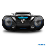 Phillips CD Soundmachine 12W Portable Speaker with Bluetooth, Cassette and CD player