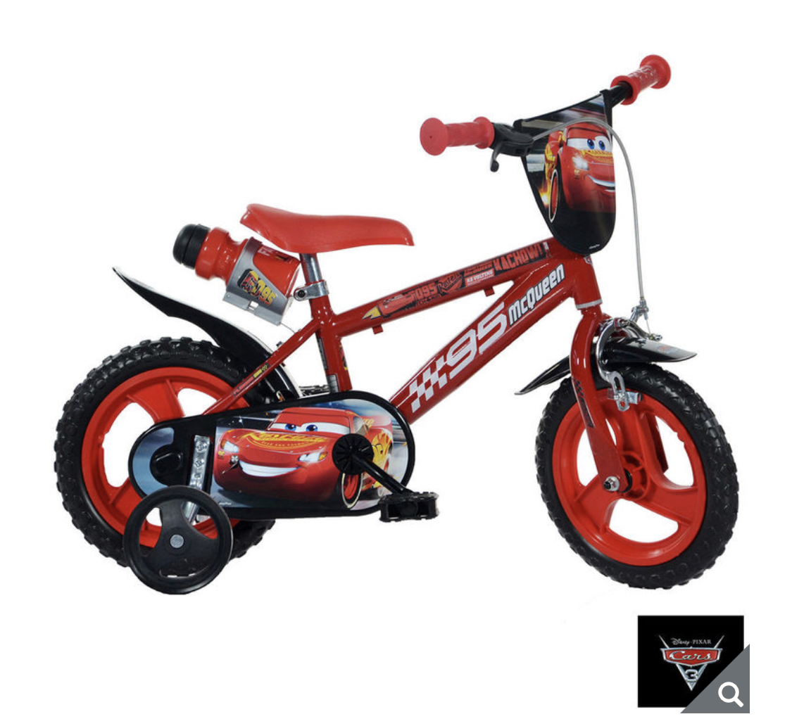 """14"""" (35.6cm) Children's Character Bicycle (4+ Years)"""