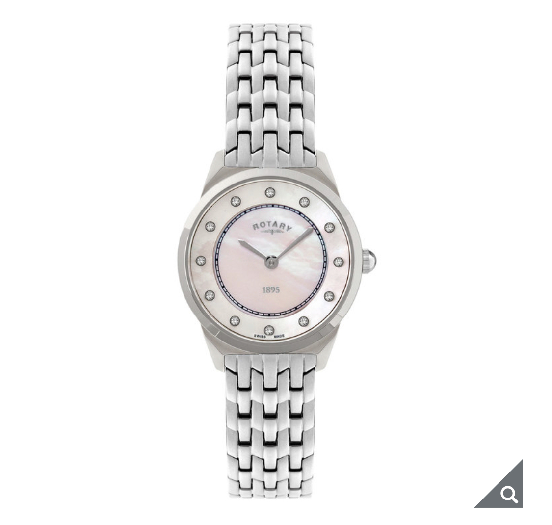 Rotary Ladies Ultra Slim Swiss Watch