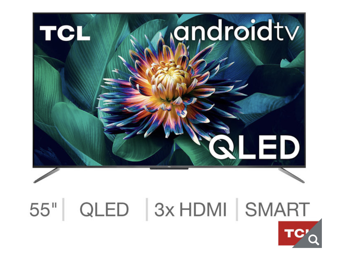 TCL 55C715K 55 Inch QLED 4K Ultra HD Smart Android TV