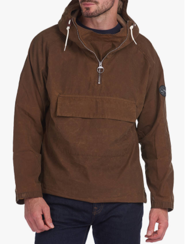 Barbour Fogle Wilderness Bowfell Pullover Jacket, Sand